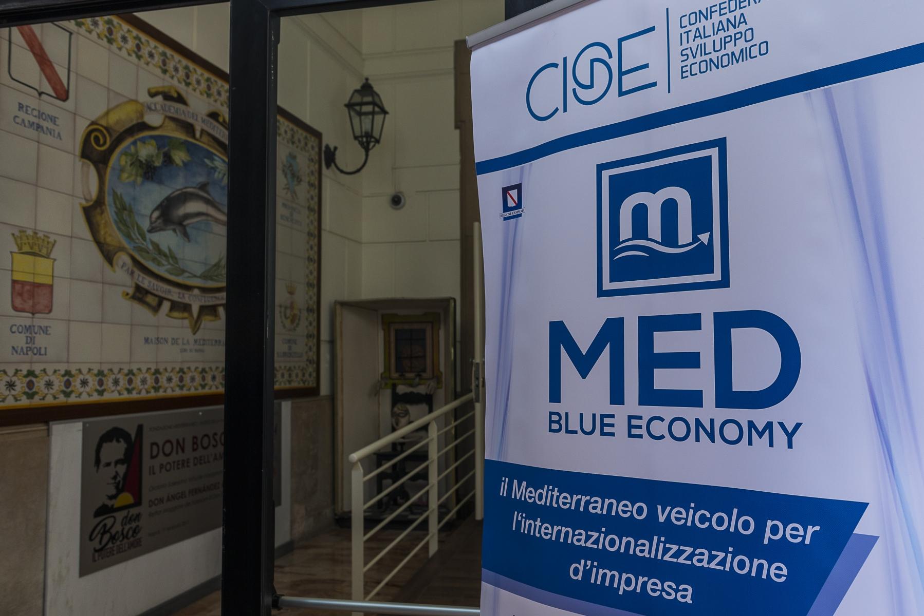Conferenza Stampa CISE Med Blue Economy - febbraio 2019