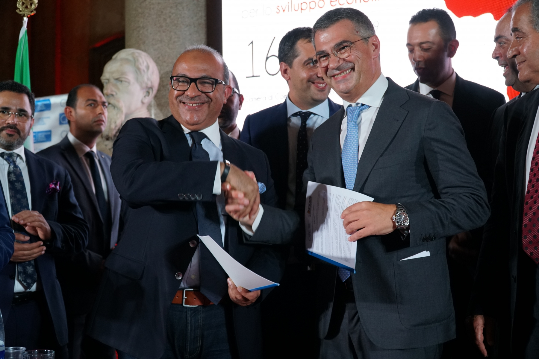Napoli - Il Cairo una rotta per lo sviluppo economico Settembre 2019 (26)